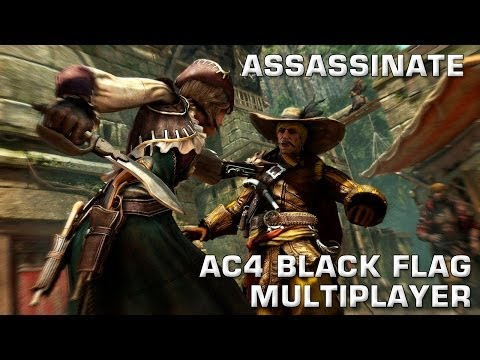 How to Assassinate - Assassin's Creed 4: Black Flag multiplayer strategy | PASTRAMI EDITION