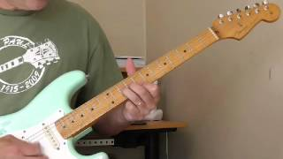Pee Wee Crayton Guitar Lesson - Double Stop Bends