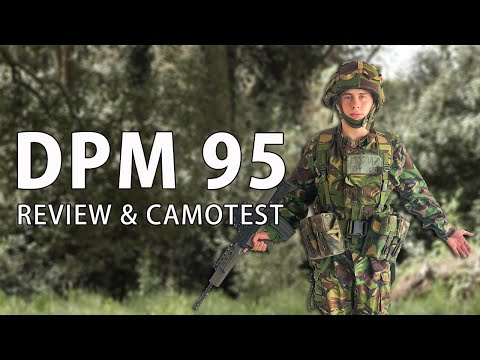 British DPM 95 Review & Camotest