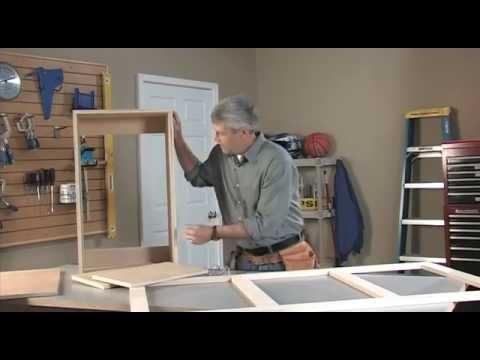 Kreg Jig Wall Cabinet  Part 1  YouTube