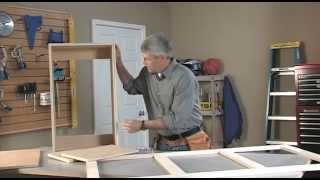 Gary Striegler walks you through the steps to build a simple upper wall cabinet, utilizing free project plans available on our website: