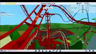 Wing Coaster at Mjgh06's TPT2 on Roblox