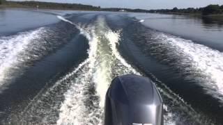 Yamaha Stroke Hp Outboard Run