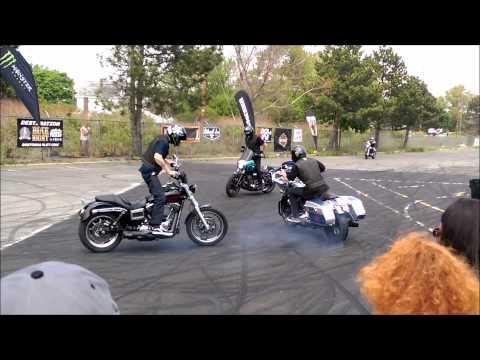 BOSTON Harley Unknown Industries bike show