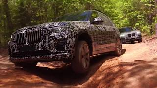 Off-road with the new BMW X7