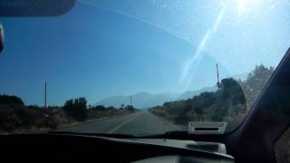 Driving in Pearblossom, CA