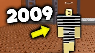 Evolution of Roblox Jailbreak 2009-2018