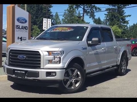 2017 ford f 150 xlt fx4 sport ecoboost supercrew w tailgate step review island ford youtube. Black Bedroom Furniture Sets. Home Design Ideas