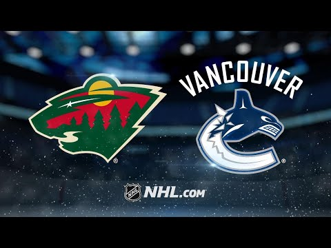 Staal, Dubnyk lead Wild past Canucks, 5-2