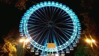 Архитектурная подсветка колеса обозрения \Электромонтаж \ Промышленные альпинисты.(Архитектурная подсветка колеса обозрения. Электромонтаж. Промышленные альпинисты. Смотреть ещё: http://www.gm-ligh..., 2016-02-17T12:08:25.000Z)
