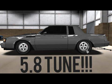 PRO SERIES DRAG RACING 5.8 TUNE!!! (GNX)
