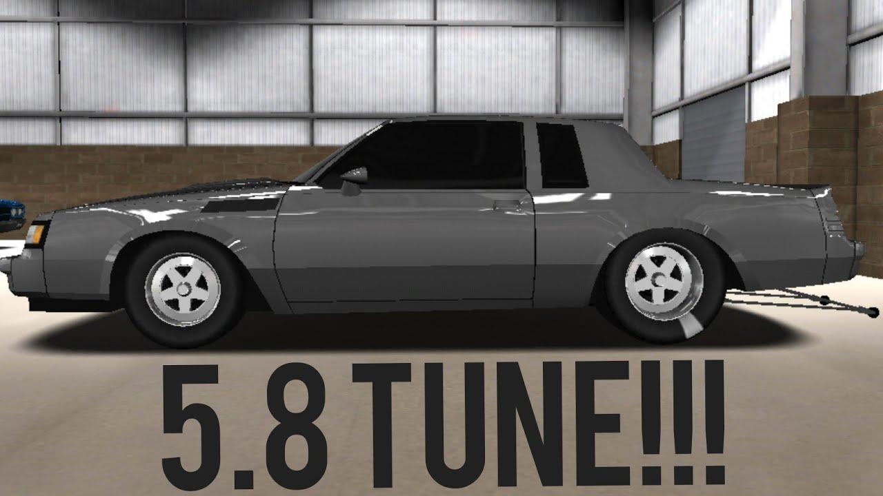 PRO SERIES DRAG RACING 5 8 TUNE!!! (GNX)