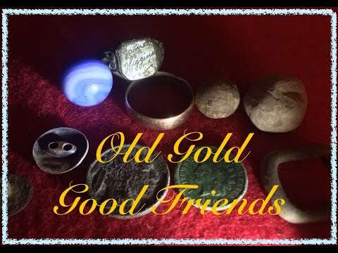 #46 Old Gold Good Friends - Metal Detecting 2016 SW Pennsylvania