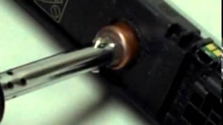Comment recharger une cartouche HP CP1025, M175, M176, M177, M275, 126A, 130A
