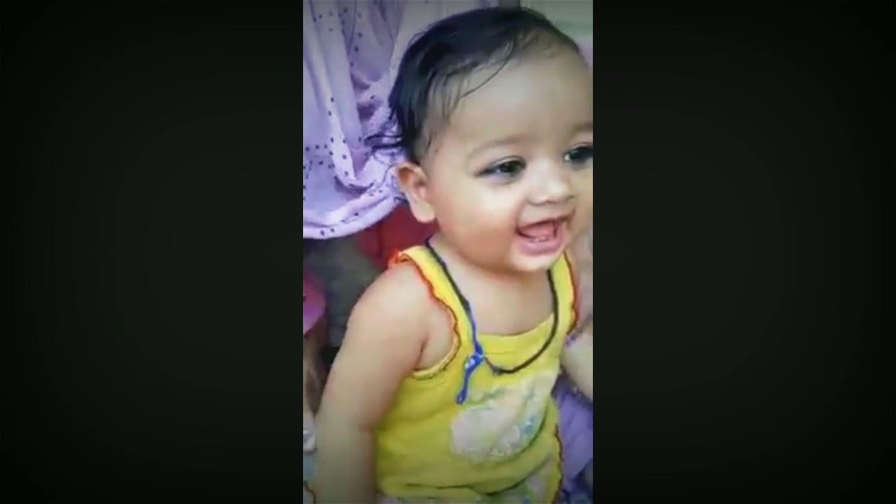 Cute baby ki cute si shararatmanoranjan video