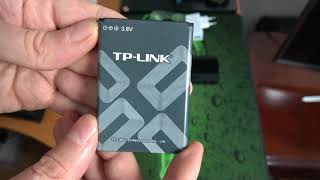 Unboxing Router wireless TP LINK M7350 3G/4G Mobile WiFi