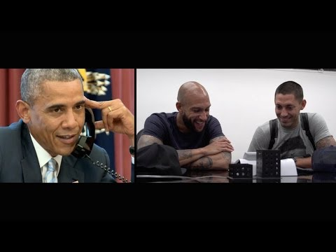 President Obama Calls Clint Dempsey and Tim Howard in São Paulo