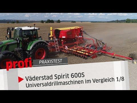 Väderstad Spirit 600S Im 6-m-Universaldrillmaschinen Im Vergleich (1/8) | Profi #Praxistest