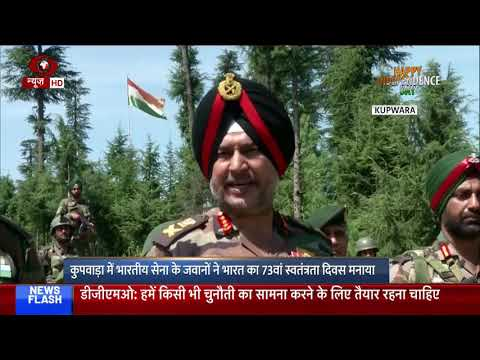 Northern Army Commander Lieutenant General Ranbir Singh Interacts With Troops On I-day