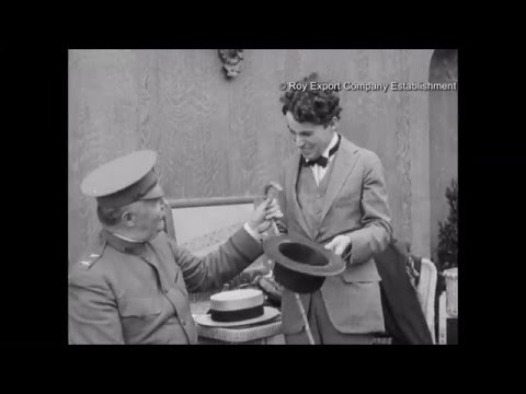 Charlie Chaplin Removing His Moustache - Behind the Scenes Archival Footage