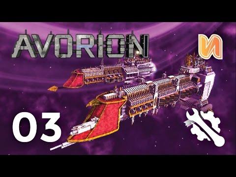 WARHAMMER SHIPS & DESTINY(STARGATE)   Avorion Builds Ep 03