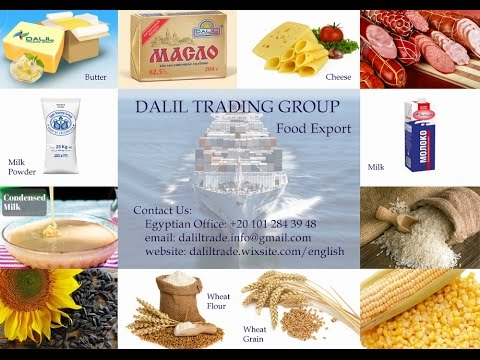 DALIL TRADING GROUP Food Export. Promo