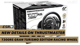 New Thrustmaster T300RS Gran Turismo Elite Racing Wheel!