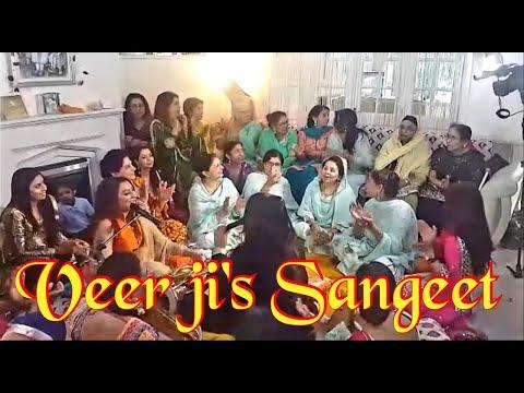 Ladies Sangeet Punjabi style