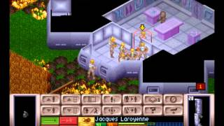 X-COM: UFO Defense - X-COM: UFO Defense  UFO Ground Assault -Abductor(PSX) - Vizzed.com GamePlay - User video