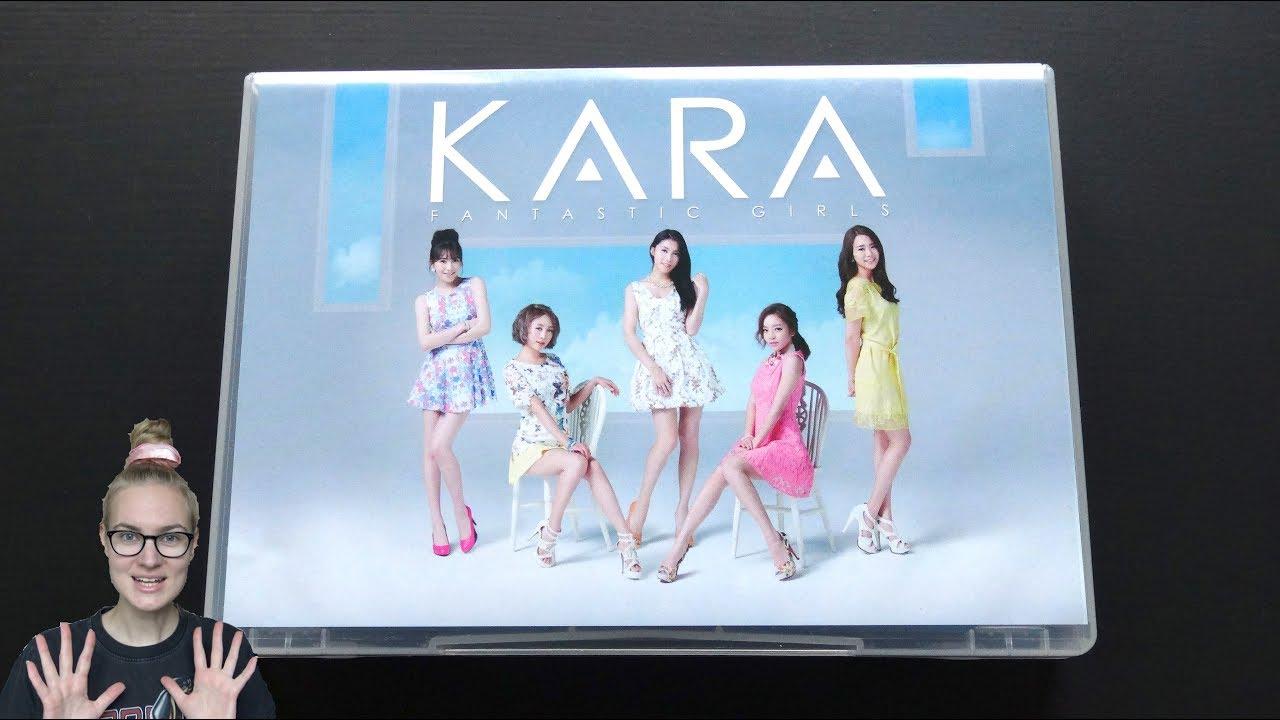Unboxing KARA 4th Japanese Studio Album Fantastic Girls ...