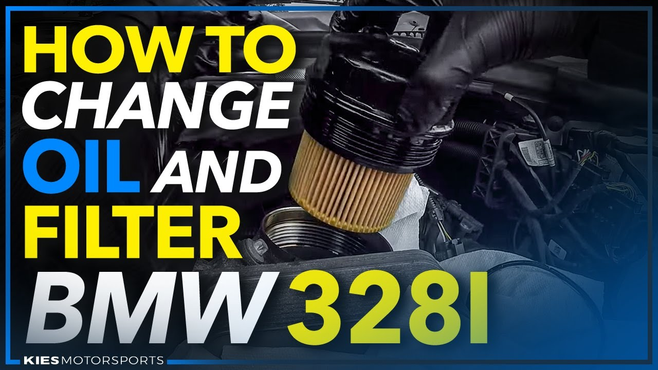 2016 Bmw 328i >> BMW F30 328i Oil and Oil Filter Change - YouTube