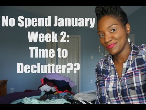 No Spend January Week 2 | Alternative Activity | Declutter, Declutter, Declutter | FrugalChicLife