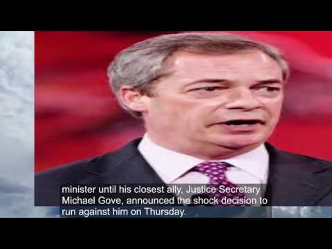 Nigel Farage resigns as head of UK Independence Party