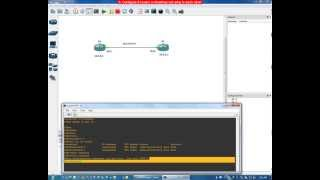 configure 2 routers in GNS3 so that they can ping to each other