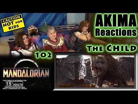 The Mandalorian 102   The Child   AKIMA Reactions