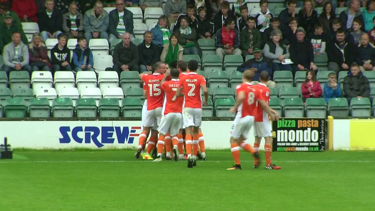 Highlights Yeovil Town V Blackpool