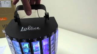 Video review of the Laluce DJ Light