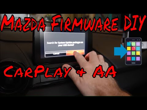 Mazda Firmware Update - Prep for CarPlay