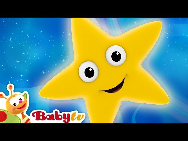 Nursery Rhymes | Twinkle Twinkle Little Star | BabyTV