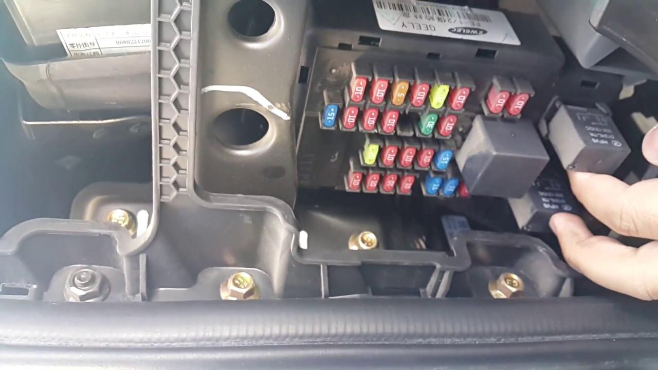 شرح تغيير الفيوزات داخل مقصورة السيارة ( عملي ) - YouTube
