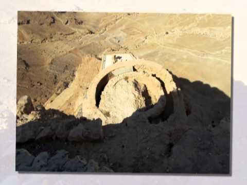 Masada  - UNESCO World Heritage Centre -  Dead Sea Region with Zahi Shaked 5.10.2011