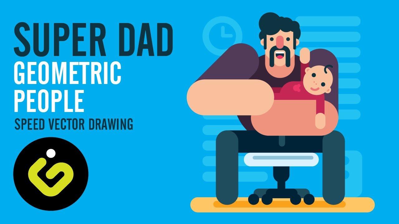 Flat Character Design Tutorial : Cartoon graphic design tutorial ankaperla