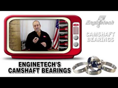 Enginetech Camshaft Bearings