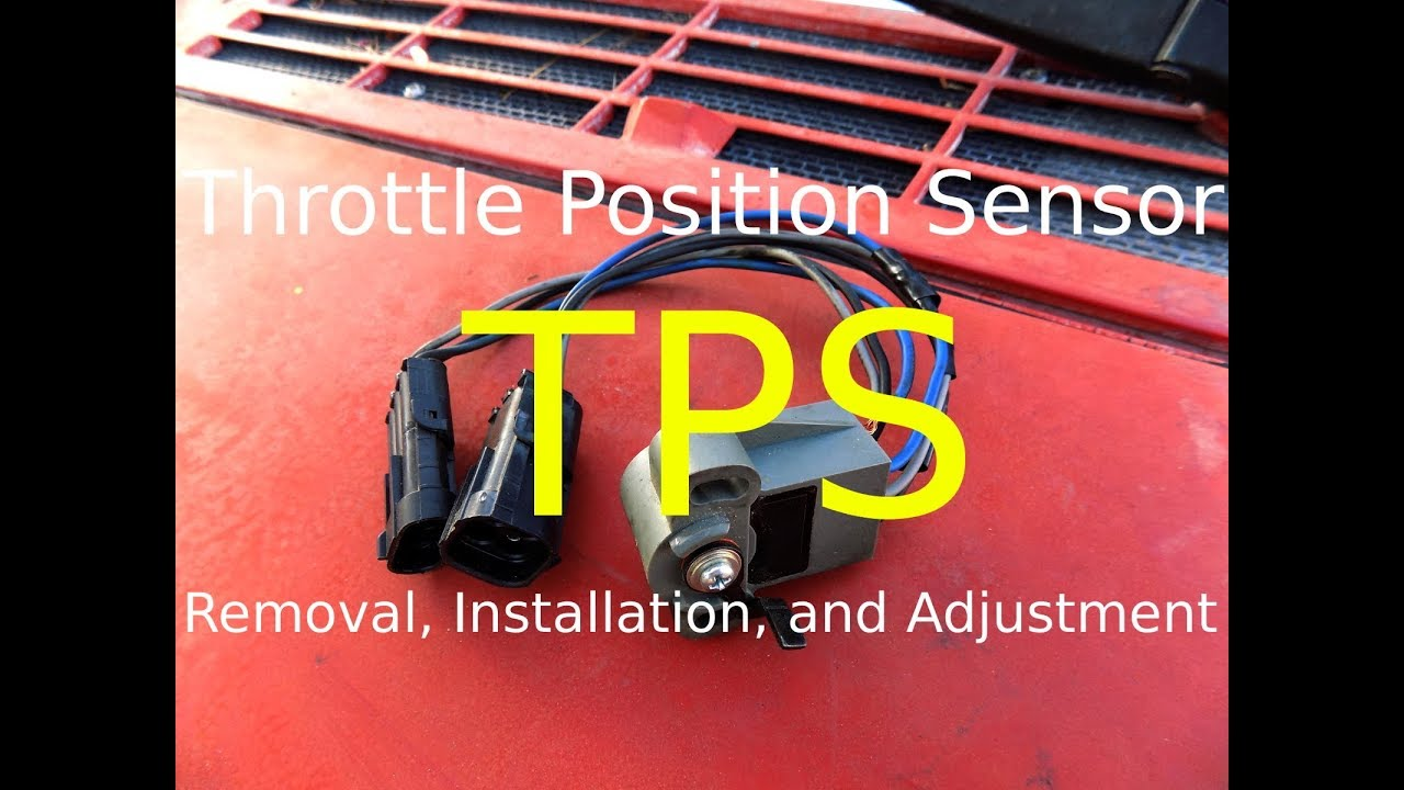 TPS: Removal, Installation, and Adjustment