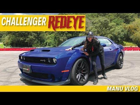 DODGE CHALLENGER HELLCAT REDEYE - EL MUSCLE CAR QUE MEJOR SUENA?