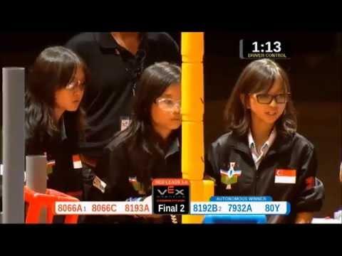 Hai Sing Catholic School @ Vex Robotics World Championship 2015