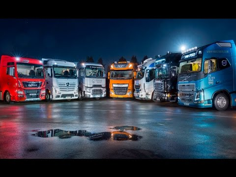 A Week In Trucks - The Big Truck Sleeper Test 2016