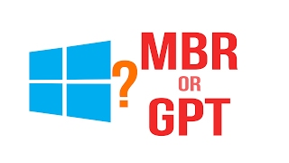 MBR or GPT? How to check your disk partition style on Windows XP, 7, 8, 8.1, 10
