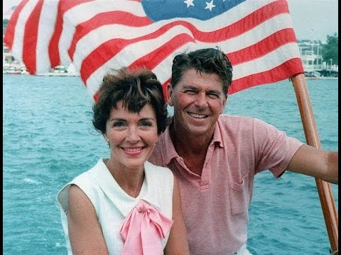 nancy reagan dating history