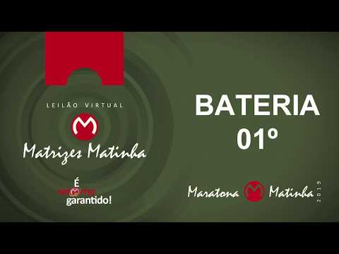 BATERIA 01º  Matrizes Matinha 2019